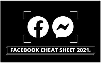 Facebook Cheat Sheet 2021: Har dit content den rigtige størrelse?