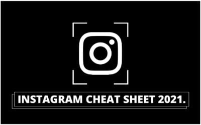 Instagram Cheat Sheet 2021: Få styr på størrelserne